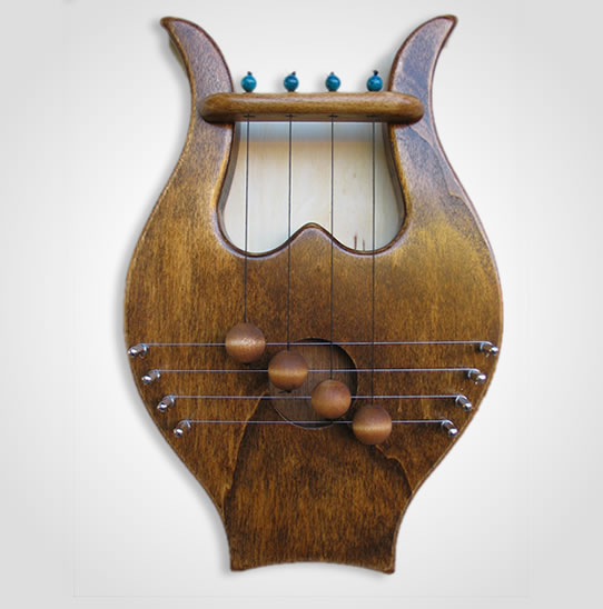 King David\u0027s Door Harp ... & King David\u0027s Door Harp -Available in 4 shades: Chestnut Rosewood ...